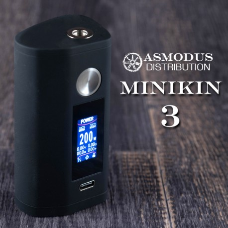 Box Minikin V3 200W. Asmodus