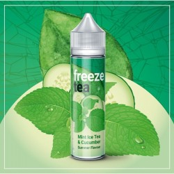 FREEZE TEA - Mint Ice Tea &Cucumber 50ml.