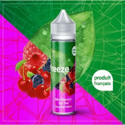 FREEZE TEA -Mix Cherry's Ice Tea - Deep Red Edition 50ml.