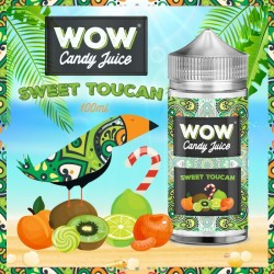 WoW Candy Juice Sweet Toucan 100ml.