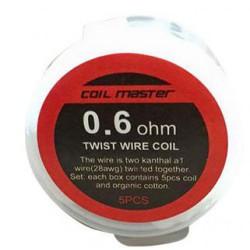 Twist Wire Coil (0.6) Coil Master