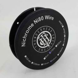 Nichrome Ni80 Wire (0.4) Thunderhead Creations